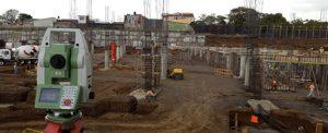 Topografía en construcción
